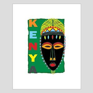 Kenya Mask Small Poster