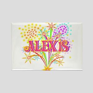Sparkle Celebration Alexis Rectangle Magnet