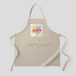 Sparkle Celebration Alexis BBQ Apron