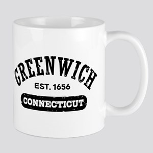 Greenwich Connecticut 11 oz Ceramic Mug