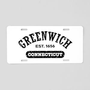 Greenwich Connecticut Aluminum License Plate