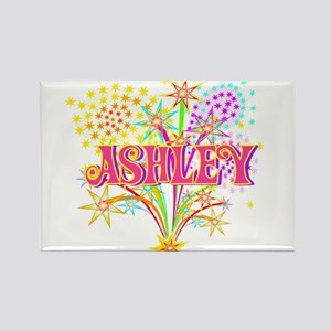 Sparkle Celebration Ashley Rectangle Magnet