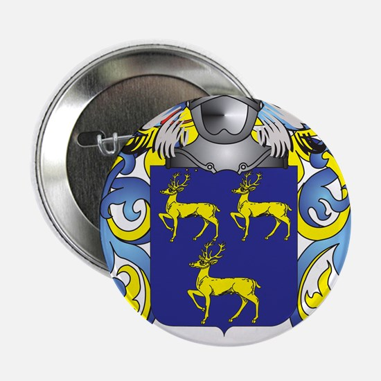 """Greene Coat of Arms (Family Crest) 2.25"""" Button"""