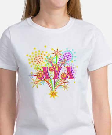Sparkle Celebration Ava Women's T-Shirt