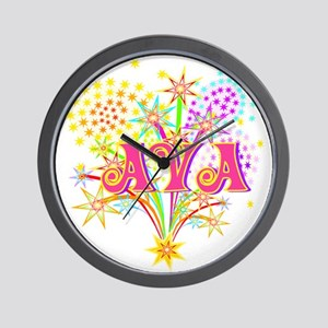 Sparkle Celebration Ava Wall Clock