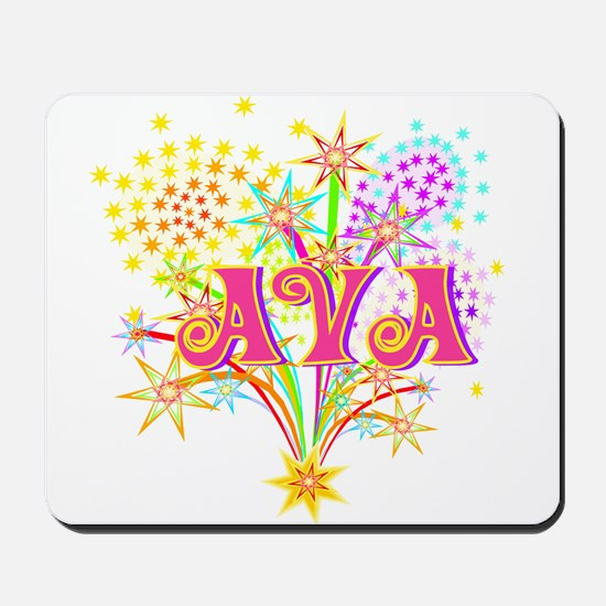 Sparkle Celebration Ava Mousepad