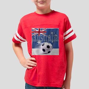 WM-02-AU-001-WH Youth Football Shirt