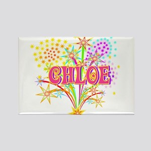 Sparkle Celebration Chloe Rectangle Magnet