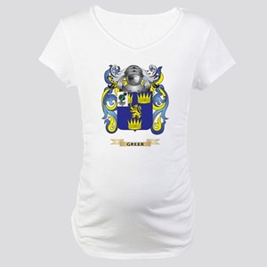 Greer Coat of Arms (Family Crest) Maternity T-Shir