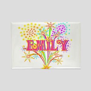 Sparkle Celebration Emily Rectangle Magnet