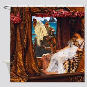 Alma-Tadema - Antony and Cleopatra Shower Curtain