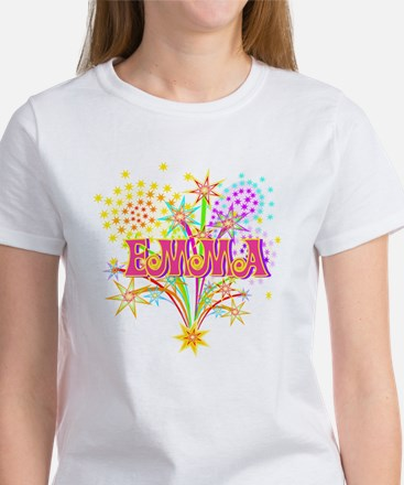 Sparkle Celebration Emma Women's T-Shirt