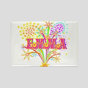Sparkle Celebration Emma Rectangle Magnet