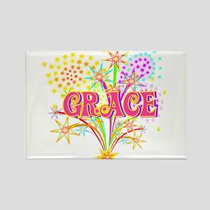 Sparkle Celebration Grace Rectangle Magnet
