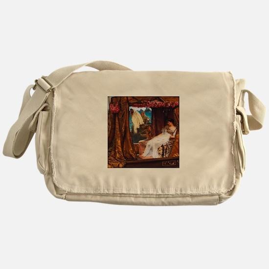 Alma-Tadema - Antony and Cleopatra Messenger Bag