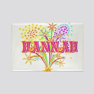 Sparkle Celebration Hannah Rectangle Magnet