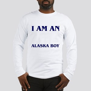 """Alaska Boy"" Long Sleeve T-Shirt"