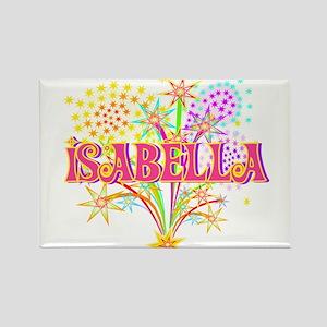 Sparkle Celebration Isabella Rectangle Magnet