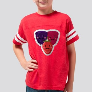 Happy Berry Trio Youth Football Shirt