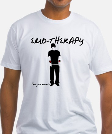 Emo-Therapy Fitted Tee