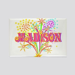 Sparkle Celebration Madison Rectangle Magnet