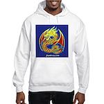 Hooded Two-sided Celtic Dragon Sweatshir