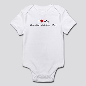 Love My Hawaiian Hairless  Ca Infant Bodysuit