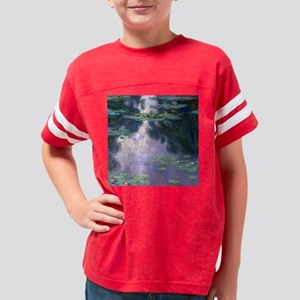 Monet Shower Youth Football Shirt