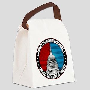 Eradicate The Muslim Brotherhood Canvas Lunch Bag