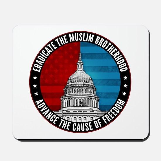 Eradicate The Muslim Brotherhood Mousepad