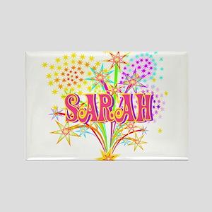 Sparkle Celebration Sarah Rectangle Magnet