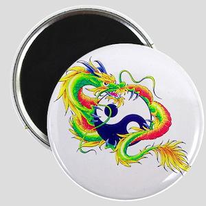 Yin and Yang Dragon Magnet