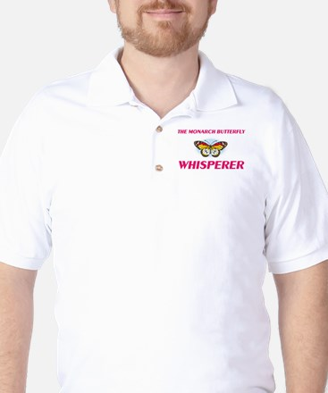 The Monarch Butterfly Whisperer Golf Shirt