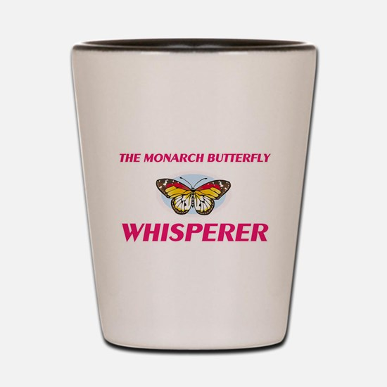 The Monarch Butterfly Whisperer Shot Glass