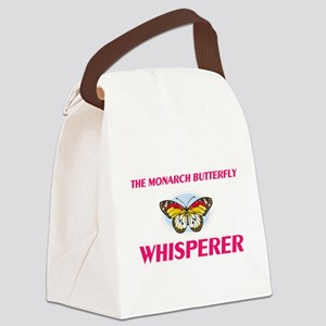 The Monarch Butterfly Whisperer Canvas Lunch Bag