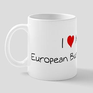 Love My European Burmese Cat Mug