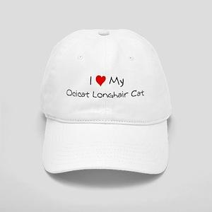 I Love Ocicat Longhair Cat Cap