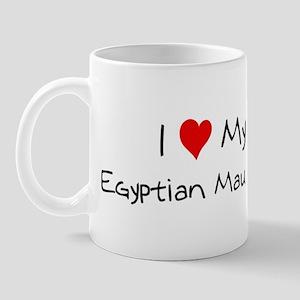 Love My Egyptian Mau Cat Mug