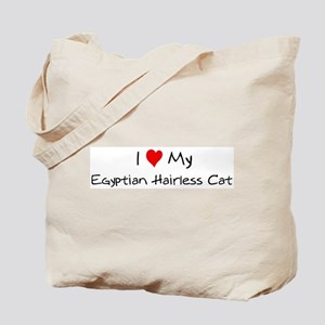 Love My Egyptian Hairless Cat Tote Bag