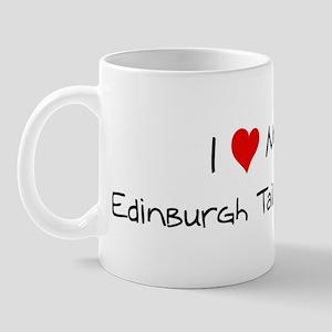 Love My Edinburgh Tailless Ca Mug