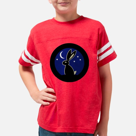 moonhare2 Youth Football Shirt