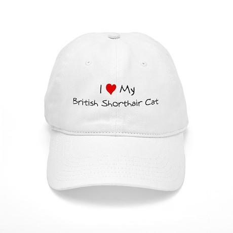 Love My British Shorthair Cat Cap