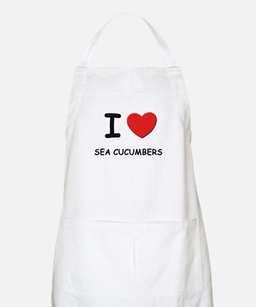 I love sea cucumbers BBQ Apron
