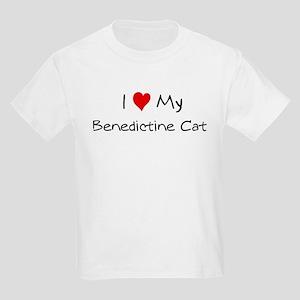 Love My Benedictine Cat Kids T-Shirt