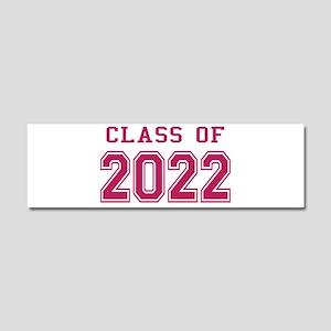 Class of 2022 (Pink) Car Magnet 10 x 3