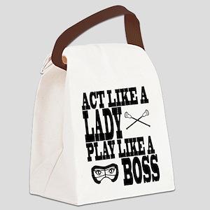 Lacrosse LadyBoss Canvas Lunch Bag