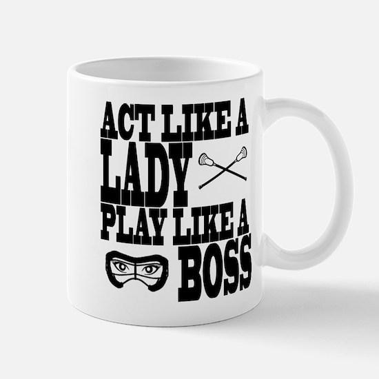 Lacrosse LadyBoss Mug