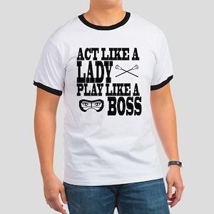 Lacrosse LadyBoss T-Shirt