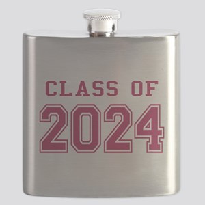 Class of 2024 (Pink) Flask