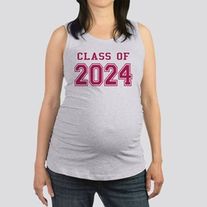 Class of 2024 (Pink) Maternity Tank Top